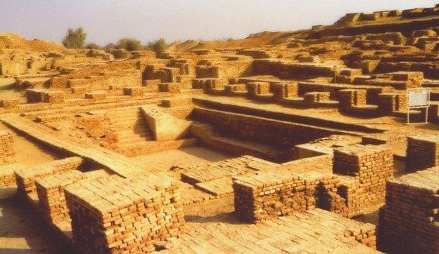The great bath of Mohenjo Daro