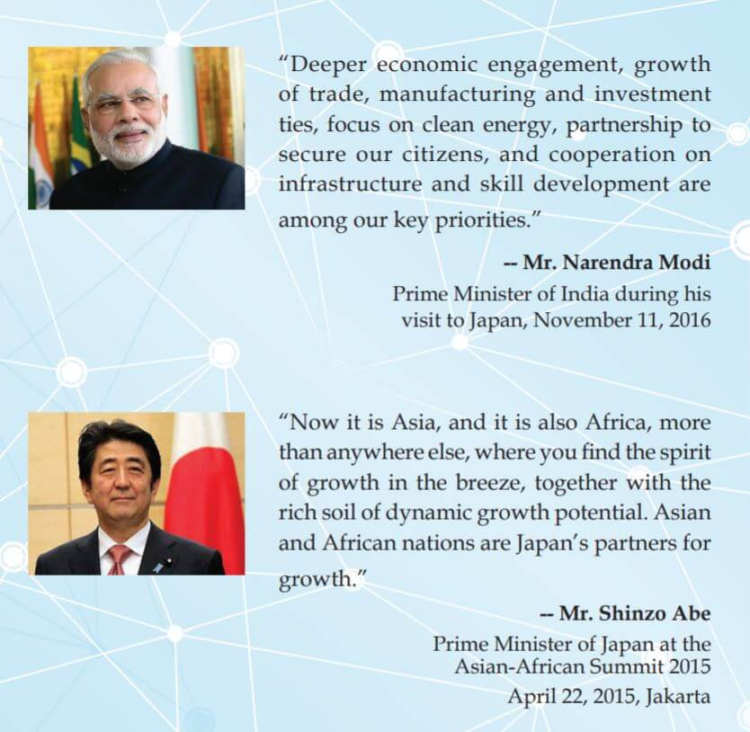 Modi & Abe, from the vision document