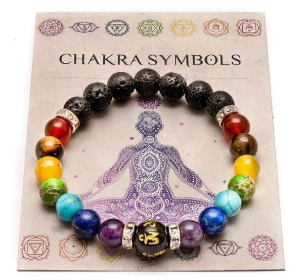 7 Chakra Bracelet with Meaning Card buy online