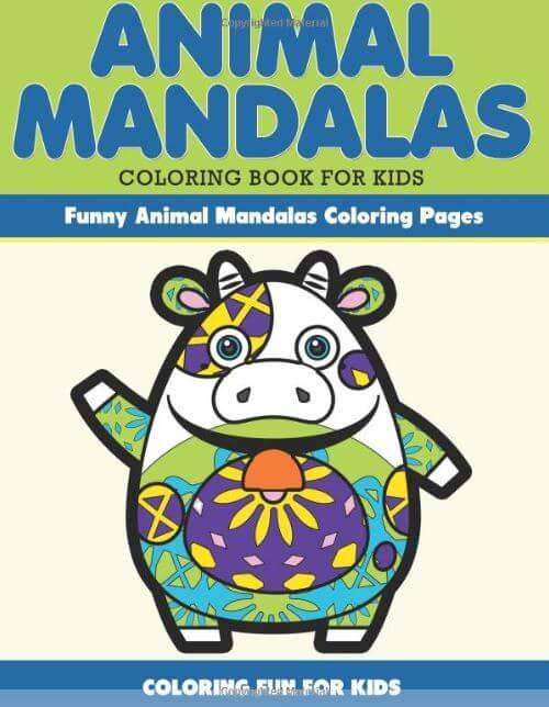 Animals mandala coloring b