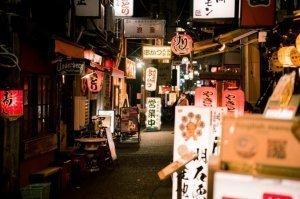 Tokyo night life