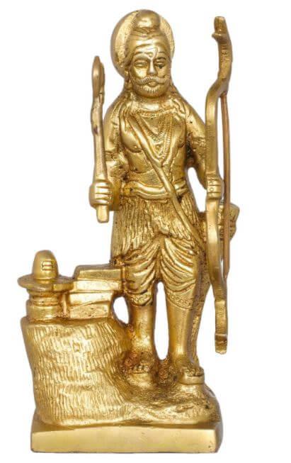 Bhagawan Parashurama With Shiva Linga