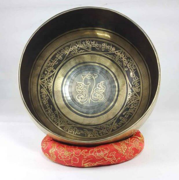 Bronze Shangka singing bowl