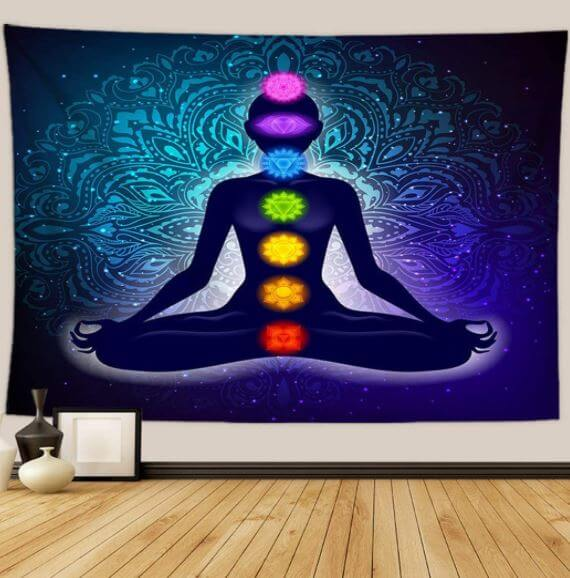 Chakra Tapestry Meditation Posters