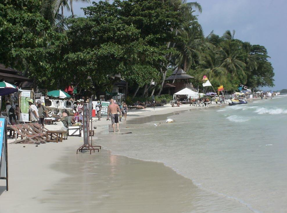 Chaweng beach Koh Samui