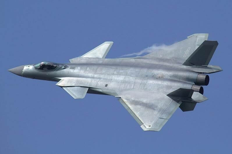 China fighter jet