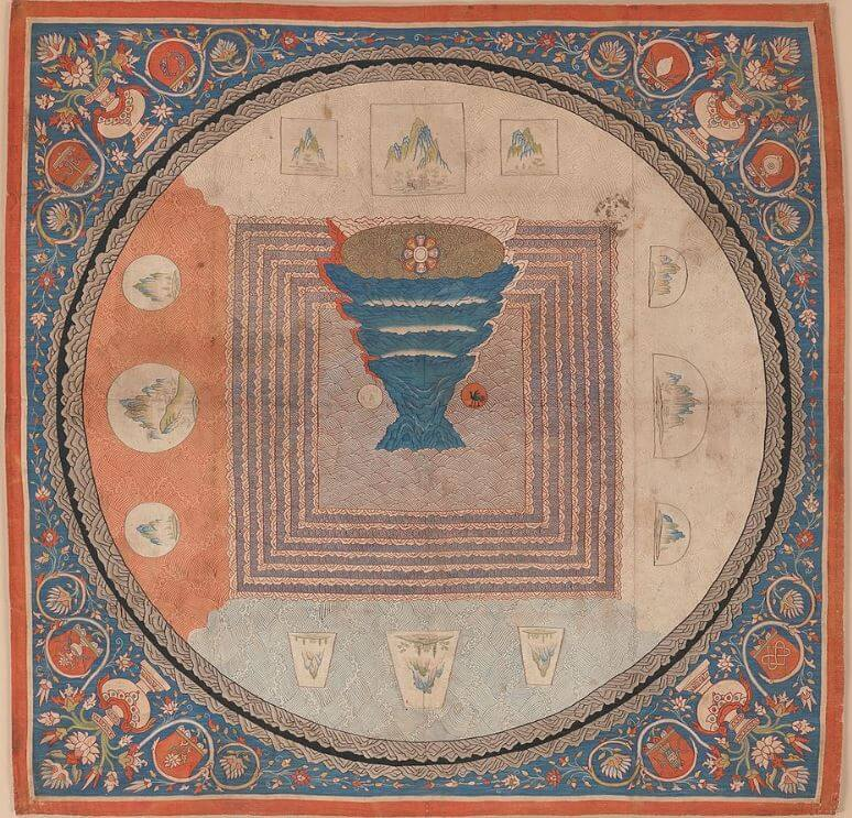 Cosmological mandala