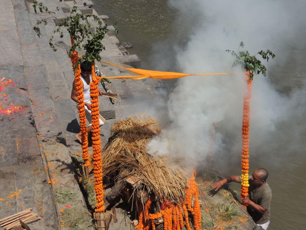 Cremation in Nepal