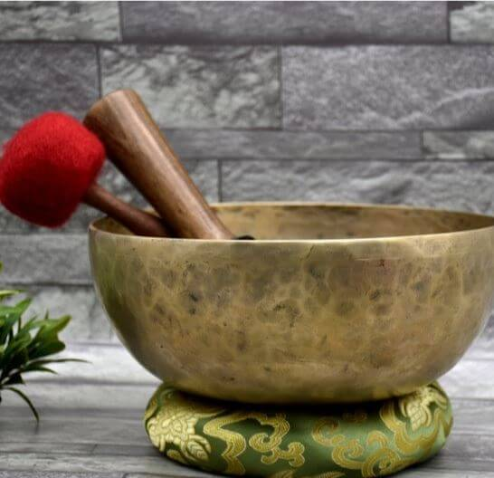 Crown Chakra Himalayan old Singing bowls