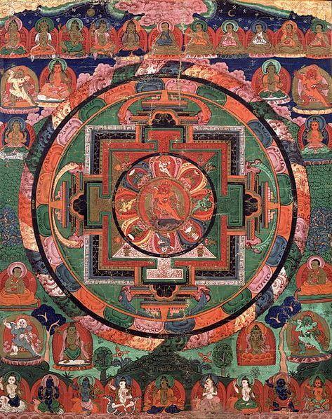 Deity mandala