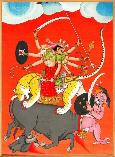The main symbols of Hinduism