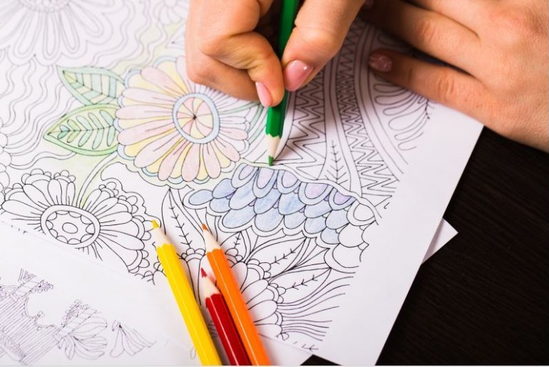 Coloring Page. Adult Vector & Photo (Free Trial) | Bigstock | 515x770