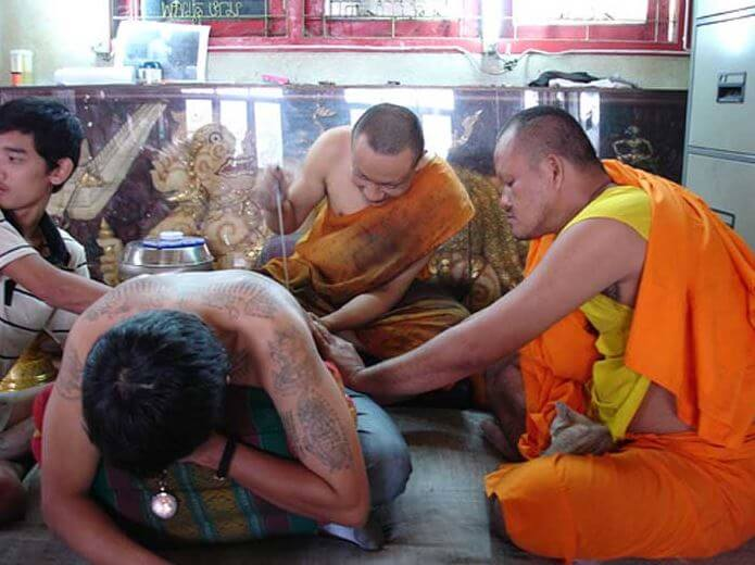 Events in Thailand - Tattoo Festival at Wat Bang Phra