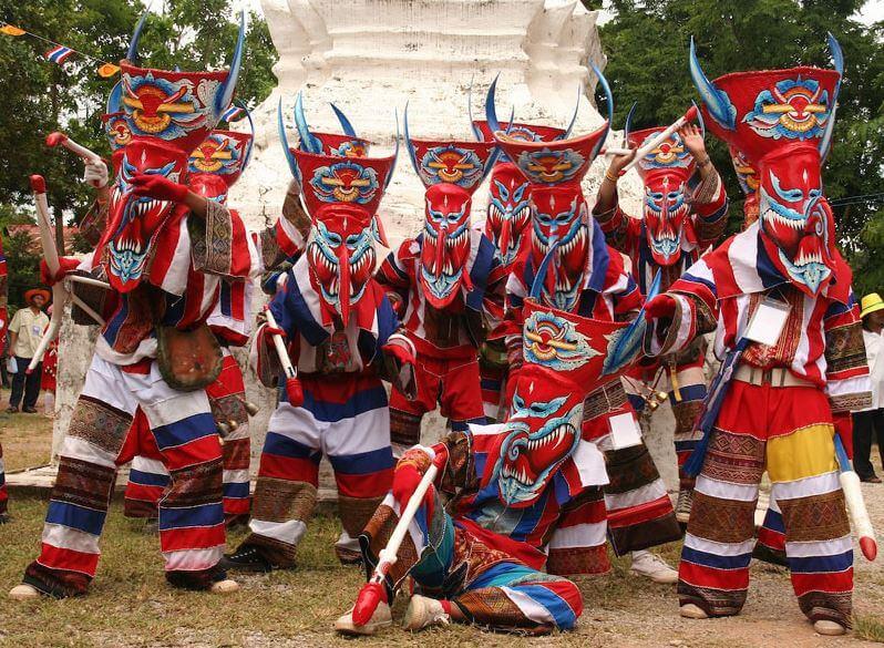 Festivals of Thailand -Phi Ta Khon Festival