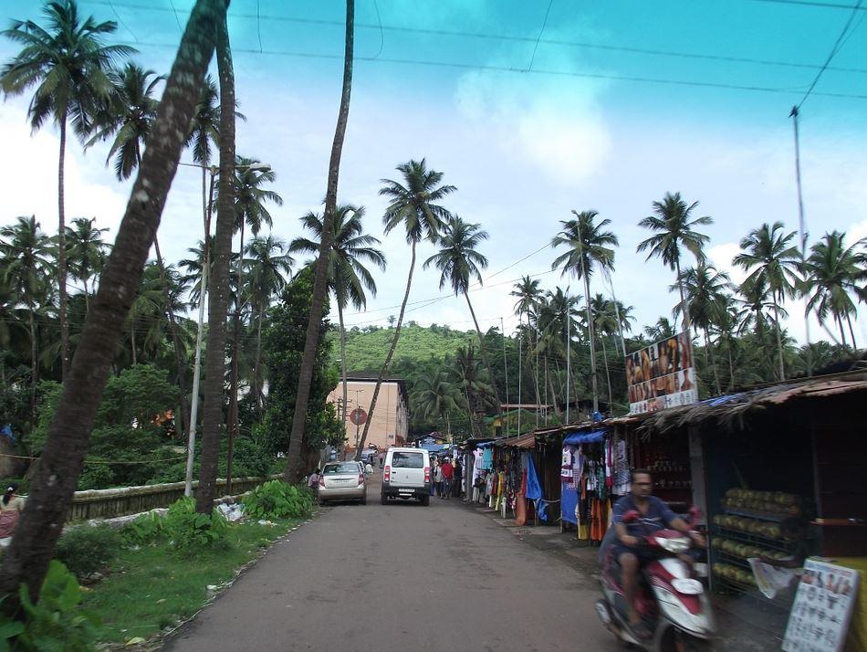 Goa street view