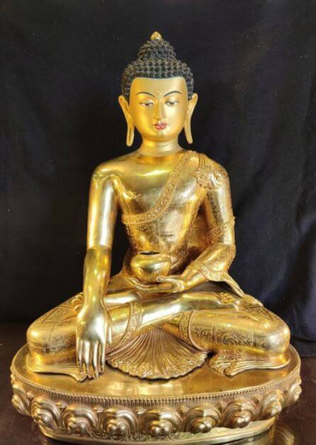 Gold Buddha statue for sale