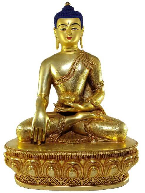 Golden Buddha statue for sale