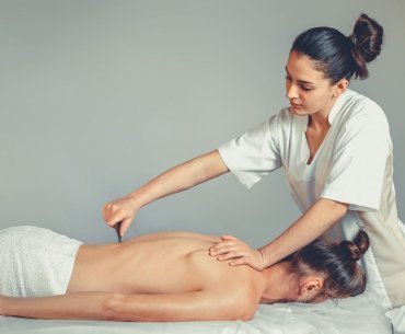 Gua sha massage
