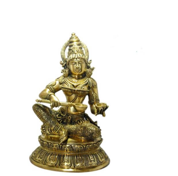 Handcrafted Annapura Devi