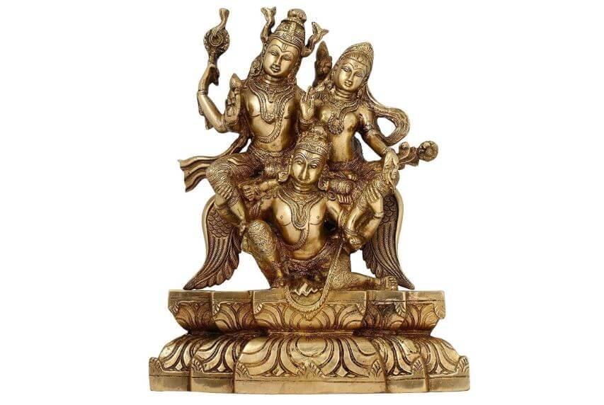 Handicraft Vishnu Laxmi and Garuda Statue