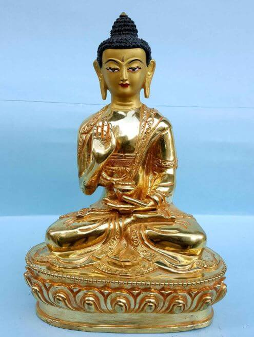 Handmade Amogasiddhi Buddha for sale