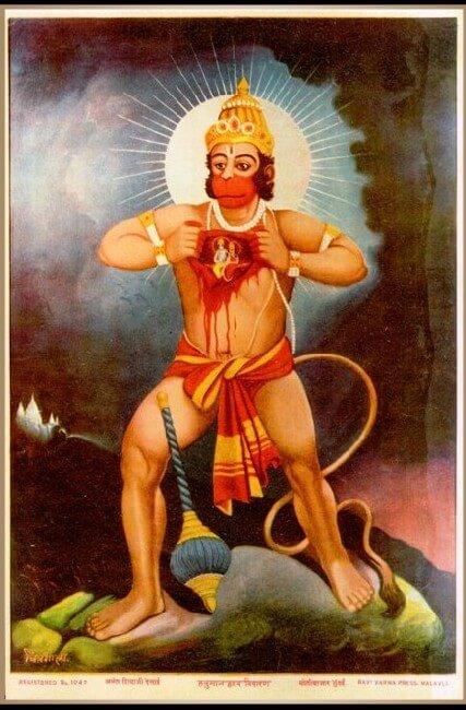 Indian Gods Hanuman