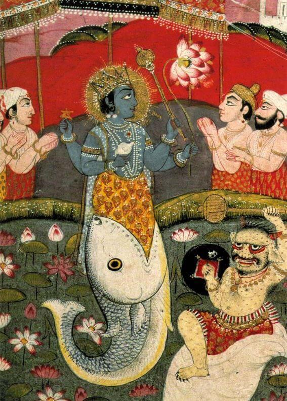 Indian gods - Lord Vishnu incarnation