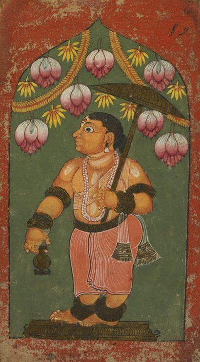 Indian god Vamana the dwarf