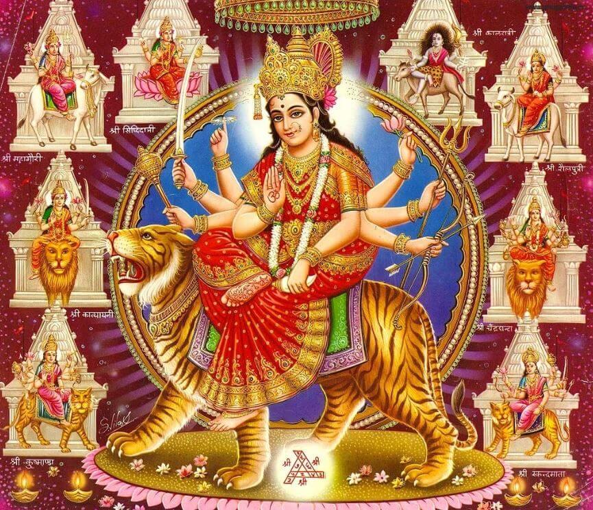 Hindu goddess Devi