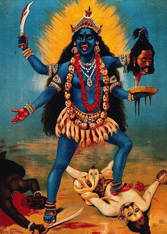 Hindu deity Kali