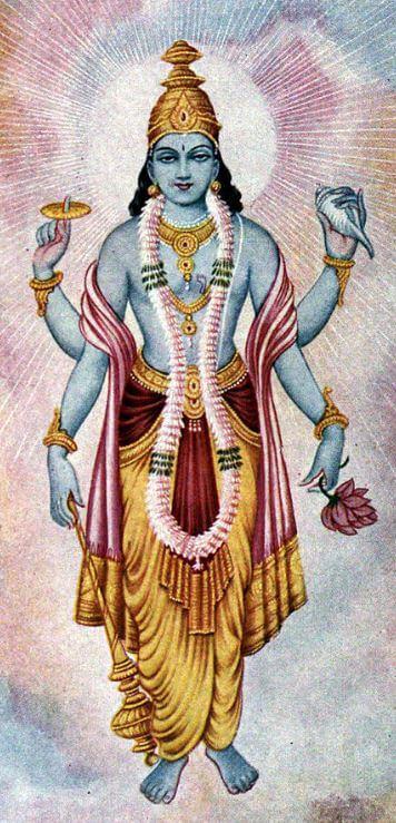 Hindu gods Lord Vishnu