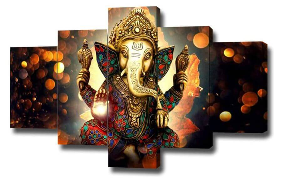Hindu symbols - Ganesh wall decore