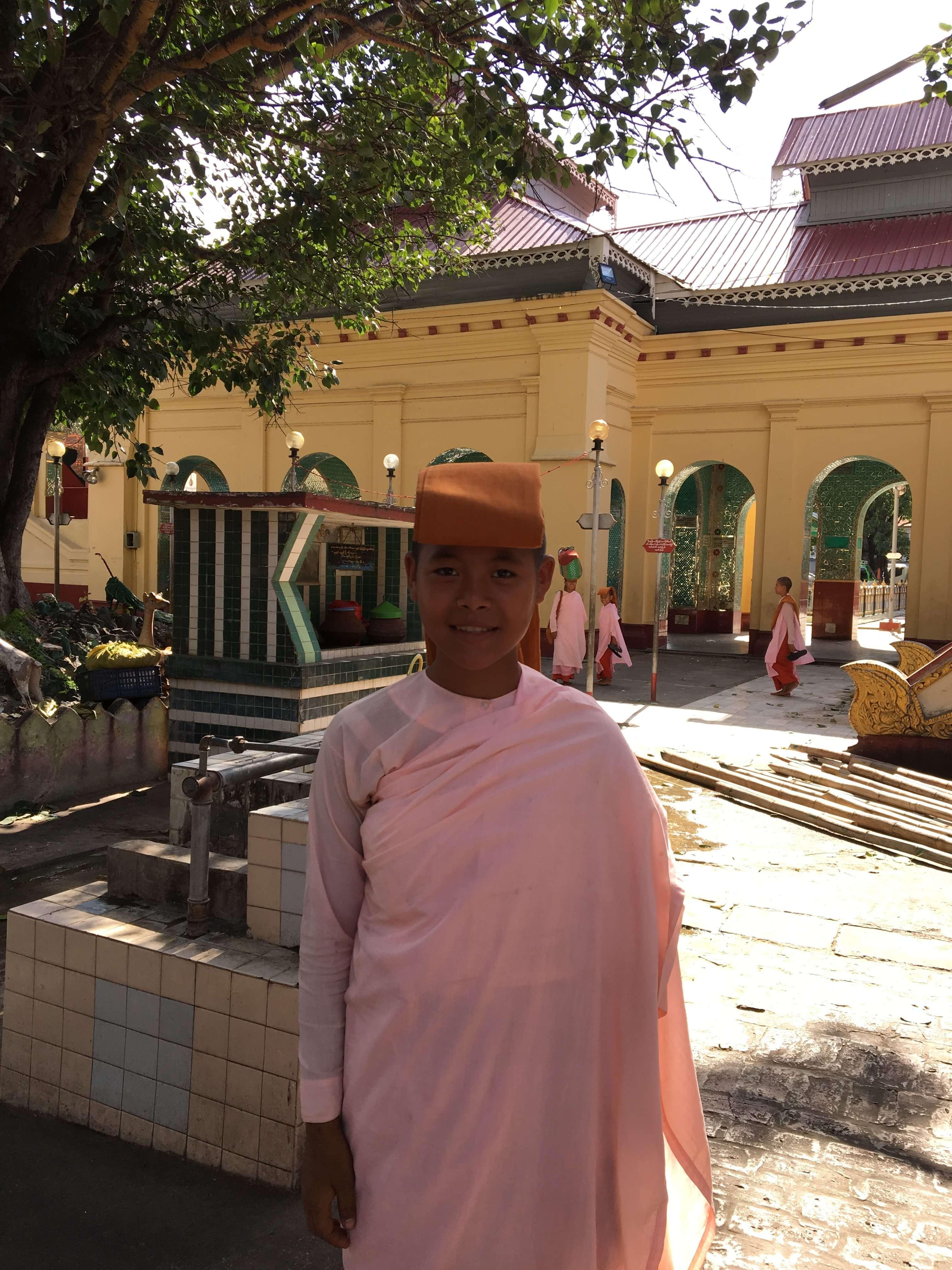 Setkyathiya pagoda, Mandalay, Myanmar (Burma)