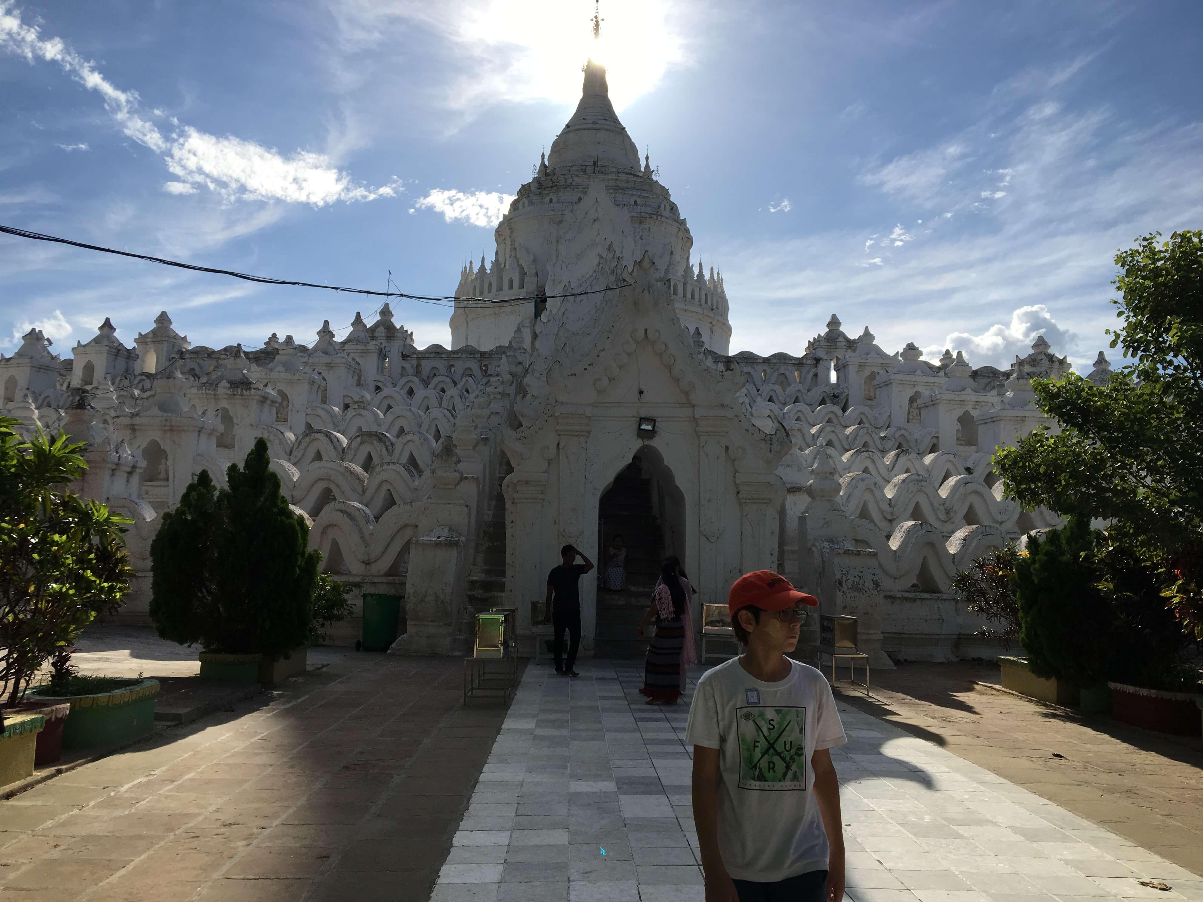 White Kuthodaw Pagoda, Myanmar (Burma)