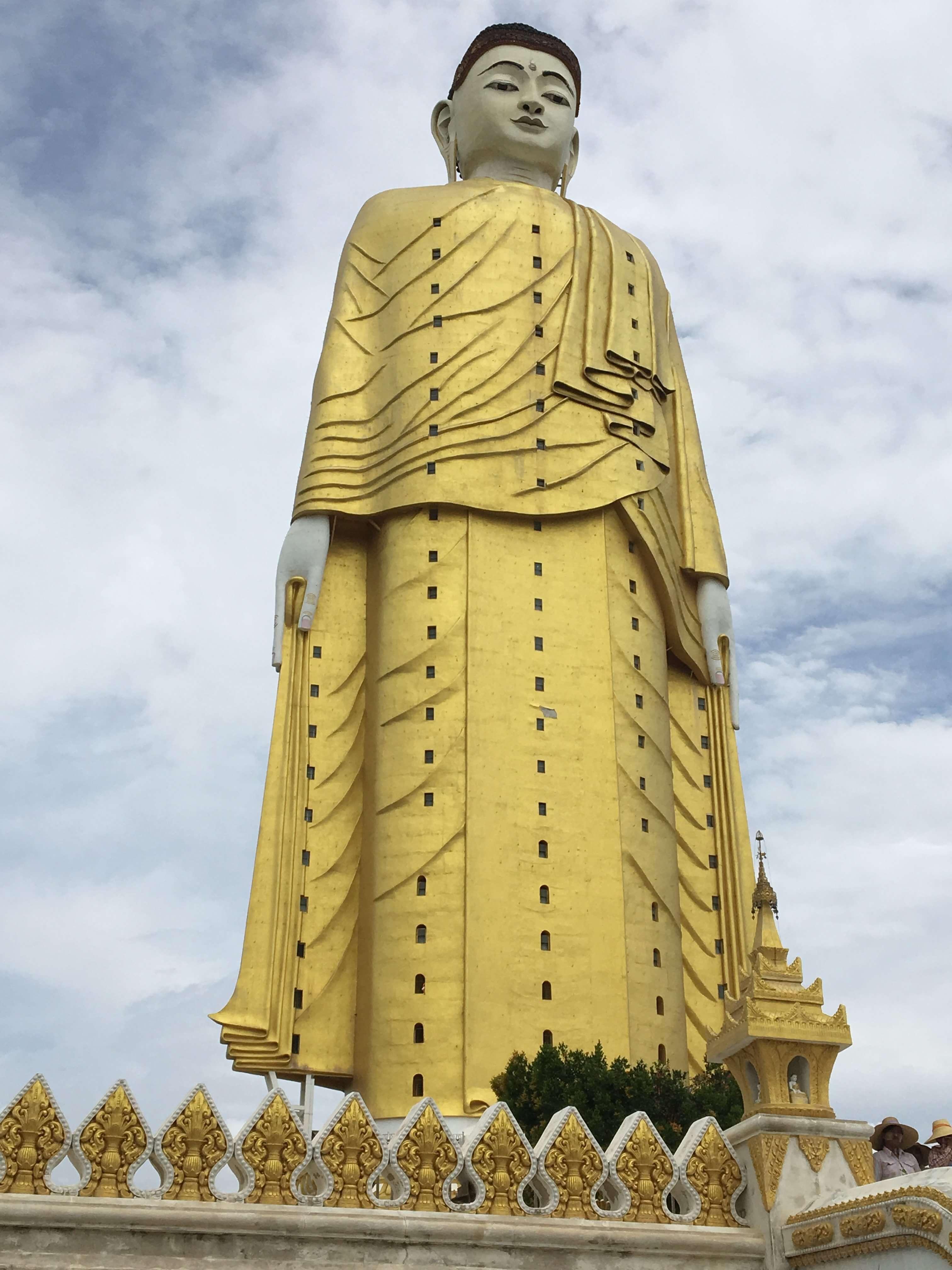 Maha Bodhi Tahtaung at Sagaing province, Myanmar