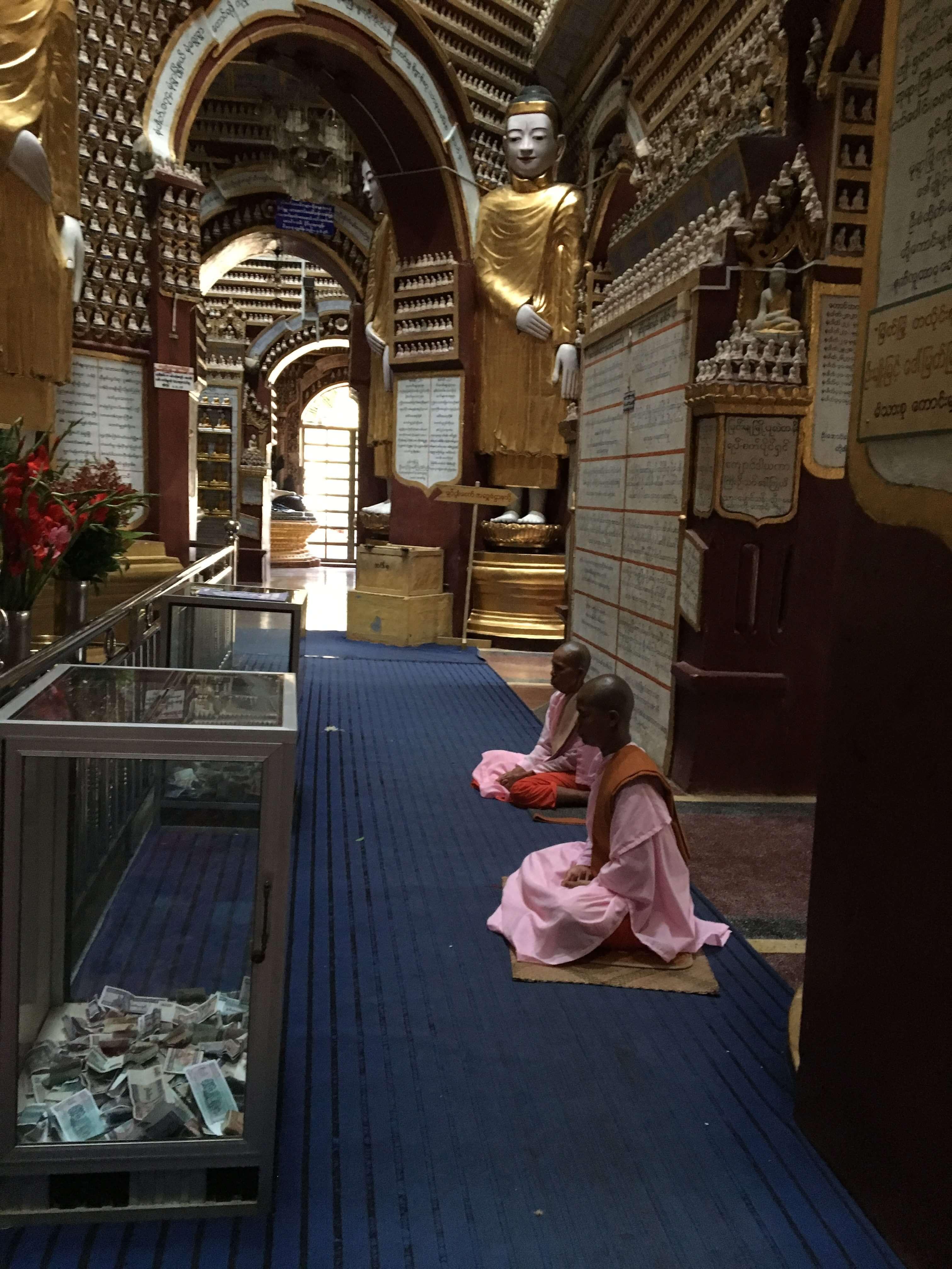Thanboddhay Pagoda, Burma