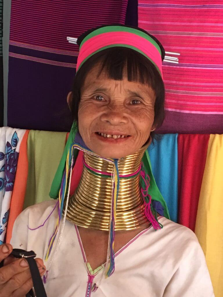 Long neck woman in Myanmar