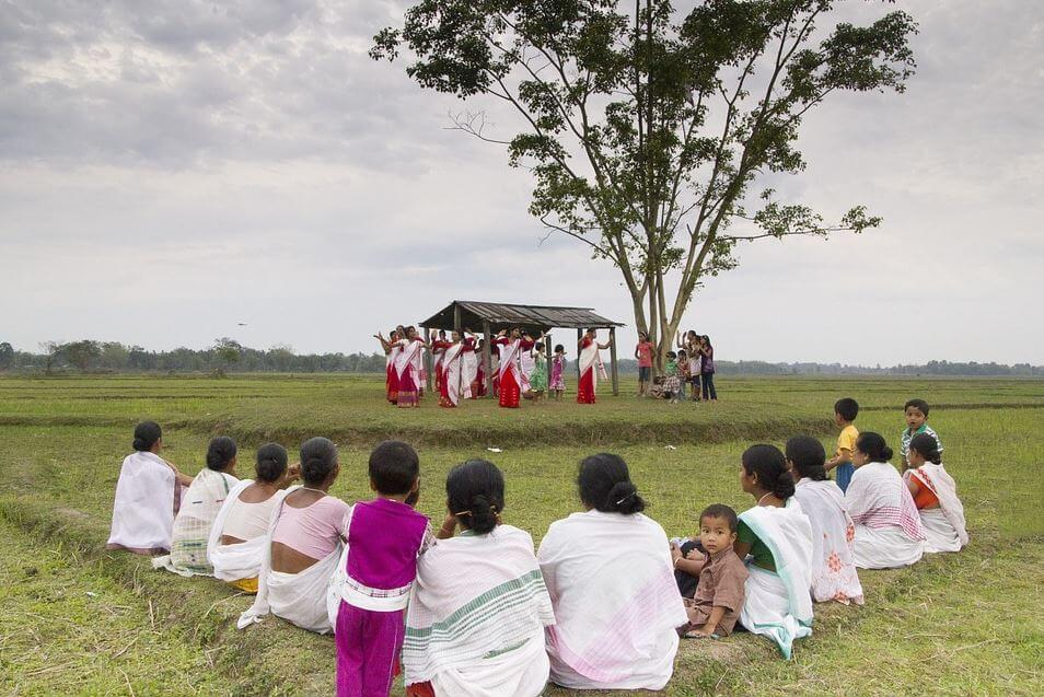India holidays - Bihu festival