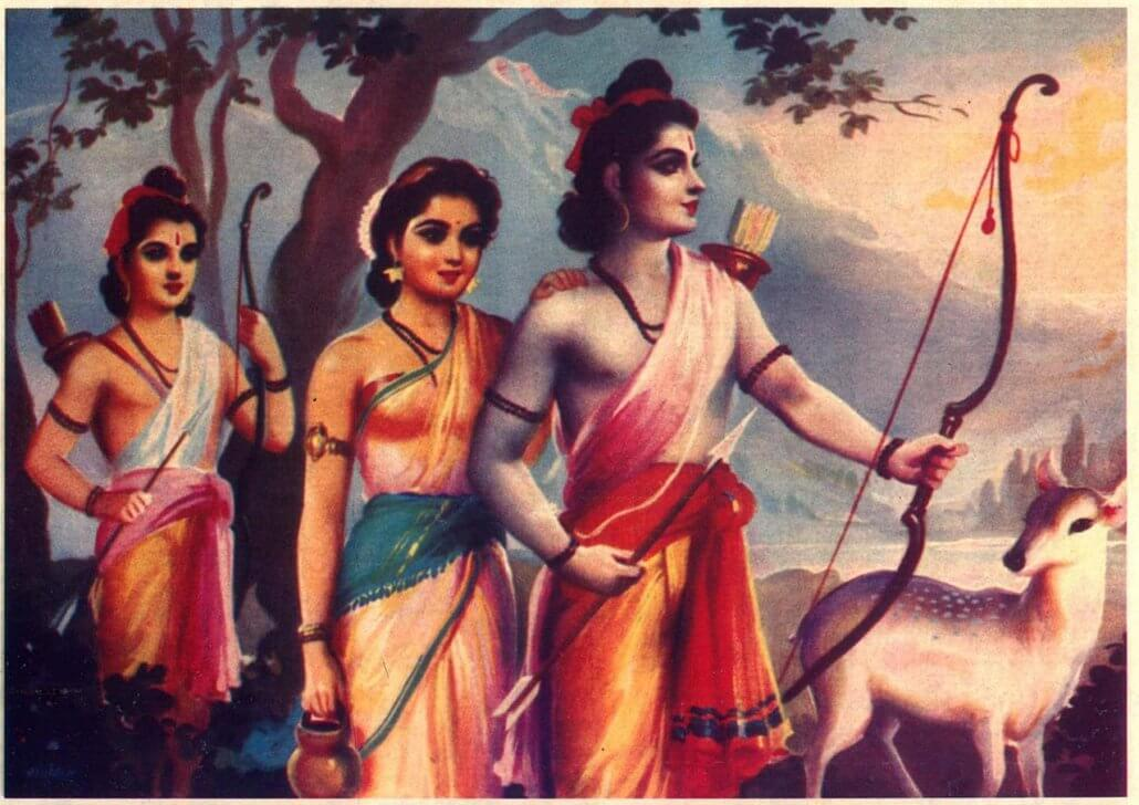 Hindu gods Rama