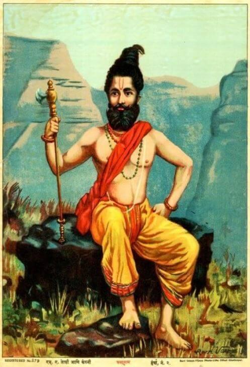 Indian god Parashurama