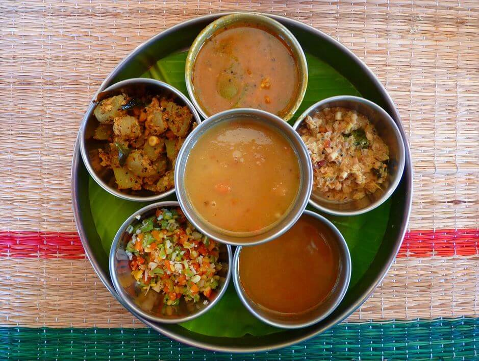 Indian food Thali dish