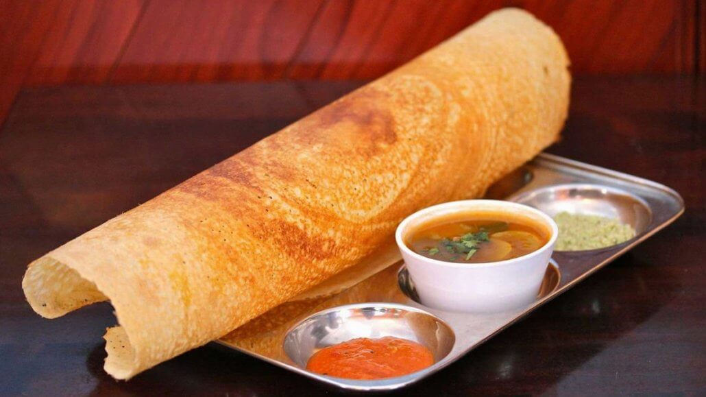 Indian cuisine Masala Dosa
