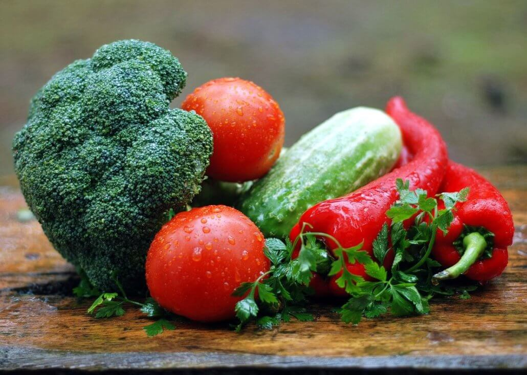 fresh vegetables in Indian cuisine