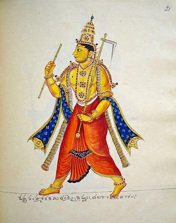 Hindu god Balarama