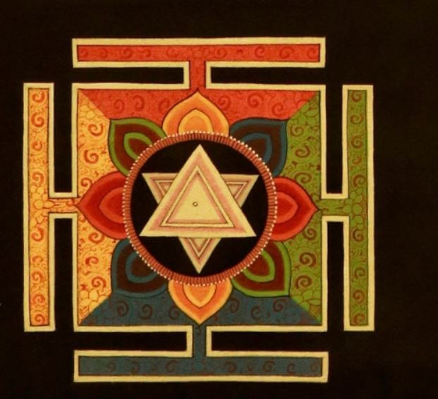 Indian mandala designs
