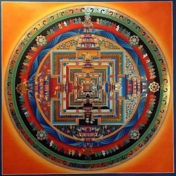 Kalachakra - Symbols for India