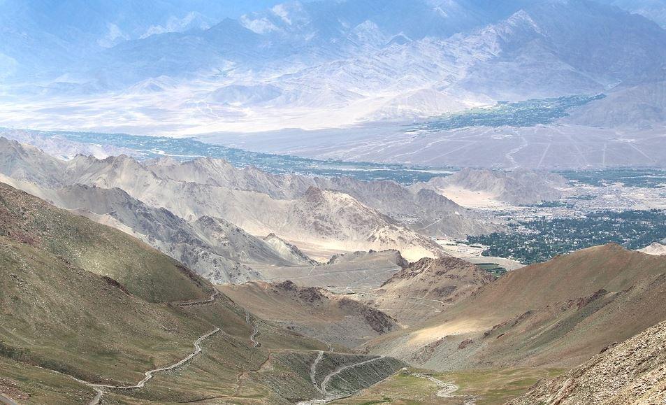 Ladakh altitude