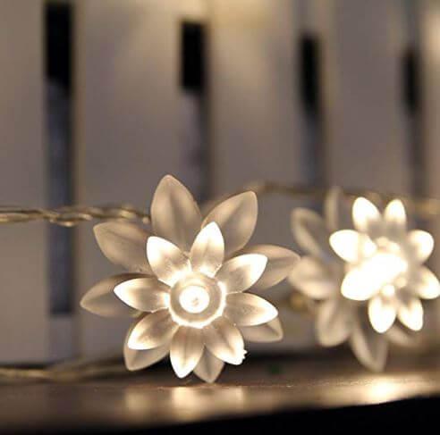 Lotus flower led