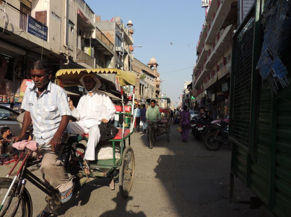Main Bazaar road Delhi