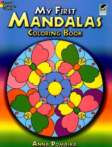 Mandala coloring pages for children
